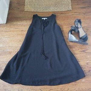 Naked Zebra little black dress